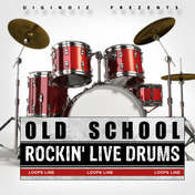 Old School Rockin Live Drums
